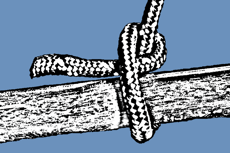 How to tie single hitch